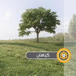 درخت و بوته و فضای سبز برای اسکچاپ