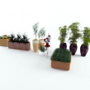 مدل های گیاهان و مبلمان فضای خارجی اسکچاپ (24)