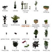 مدل های گیاهان و مبلمان فضای خارجی اسکچاپ (29)