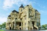 مدل یک ساختمان با نمای کلاسیک (۲)