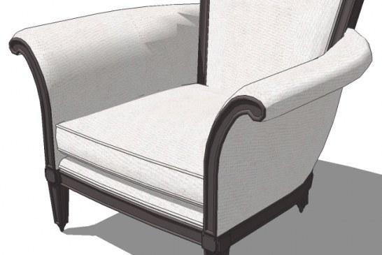 مجموعه اول ابجکت های مبل و صندلی برای اسکچاپ
